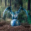 "PT14018 - 8.75"" Planet Earth Guardian Dragon"