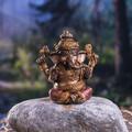 """PT13882 - 2.5"""" Sitting Ganesha"""