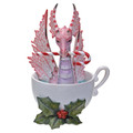 "PT13897 - 3.5"" Perfectly Peppermint Dragon"