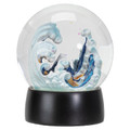 """PT13902 - 5.5"""" Great Wave 100mm Water Globe"""
