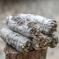 """PT14170 - 9"""" Long California Lavender and White Sage Smudge Stick"""