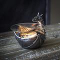 """PT14293 - 4.5"""" Dragon Aroma Dish Burner"""