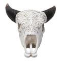 """PT14237 - 18.3"""" Bison Skull Lamp"""