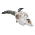 """PT14238 - 13.4"""" Goat Skull Lamp"""