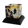 """PT08753 - 5"""" Fantasy Candle Silhouttes - Wyverns Wake"""