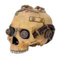 """PT08880 - 7.5"""" long Steampunk Skull"""
