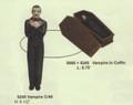 """PT09066 - 8.25"""" Coffin Trinket Box"""
