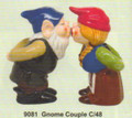 """PT09081 - 4.25"""" Greenome Couple Salt and Pepper Shakers"""