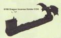 """PT09196 - 10"""" long Dragon Incense Holder"""