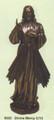 "PT09222 - 11.25"" Bronze-finished Divine Mercy"