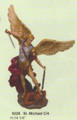"PT09228 - 14.25"" Saint Michael with Lucifer in chains"