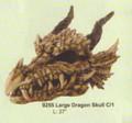 "PT09255 - 18.5"" Large Dragon Skull"