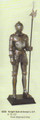 """PT09258 - 72.5"""" Life -size Knight Suit of Armor (Left)"""