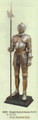 """PT09259 - 72.5"""" Life -size Knight Suit of Armor (Right)"""