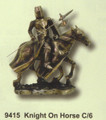 "PT09415 - 8.5"" Knight on Horse"