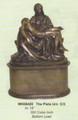 "PTWH26420 - 15"" The Pieta Urn; bronze-finish (300 cubic inch bottom load)"