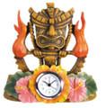 YTC7401 - Tiki Fire Clock