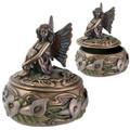 "YTC7762 - 3"" Calla Lily Fairy Trinket Box"