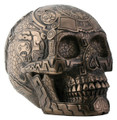 YTC8223 - Bronze-finish Aztec Skull