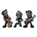"PT09793 - 6.25"" Zombie Jazz Players Set of 3"