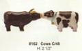 "PT08162 - 2.5"" Cows Salt and Pepper Shaker Set"
