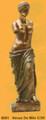 "PT08691 - 12"" Bronze-finished Venus de Milo"
