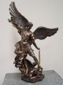 "PT08693 - 14"" Saint Michael (bronze-finished)"