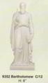 """PT09352 - 8"""" Twelve Apostles - Saint Bartholomew (faux-marble)"""