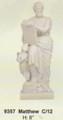 "PT09357 - 8"" Twelve Apostles - Saint Matthew (faux-marble)"