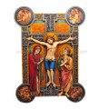"PT09376 - 12.25"" Weingarten Crucifix Plaque"