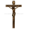 "PT09506 - 30.25"" Wall Crucifix; Bronze-finished"