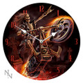 "PT09841 - 13.25"" Hell Rider Wall Clock"