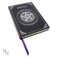 "PTB0146 - 6.675"" Purple Spell Book Embossed Journal"