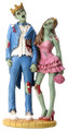 "YTC8404 - 6.75"" Zombie Prom King and Queen"