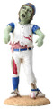 """YTC8405 - Zombie Baseball Kid; 2"""" long by 2"""" wide by 4.5"""" high; estimated weight 1.50 pounds."""