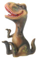 """YTC8420 - Baby T-Rex Dinosaur; 2.25"""" long by 1.25"""" wide by 3.75"""" high; weight:  0.35 pounds."""