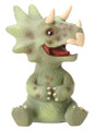 """YTC8422 - Baby Triceratops Dinosaur; 2.5"""" long by 2"""" wide by 3"""" high; weight:  0.30 pounds."""