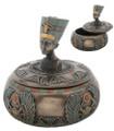 """YTC8264 - 4"""" Nefertiti Bust Trinket Box"""