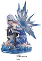 "GSC91455 - 12"" Ice Fairy w/Blue Dragon"