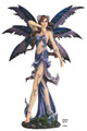 """GSC91619 - 29"""" Large Blue Fairy in Stroll"""