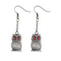 """PT10093 - .75"""" Owl Earrings"""