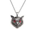 """PT10094 - 1.5"""" Owl Necklace"""