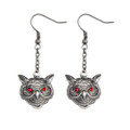 """PT10095 - .75"""" Owl Earrings"""