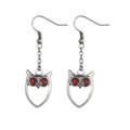 """PT10097 - .75"""" Owl Earrings"""