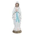"""PT10131 - 16"""" Porcelain Divinity  Our Lady of Lourdes"""