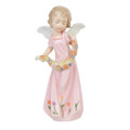 "PT10139 - 5.25"" Floral Angel - Rose"
