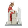 "PT10157 - 7.25"" Jesus with Communion Girl"