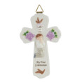 "PT10158 - .675"" My First Communion Boy Cross"