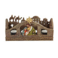 "PT09896 - 5.25"" Holy Family Advent Candle Holder"