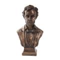 "PT10194 - 7.5"" Bronze-finished Abraham Lincoln Bust"